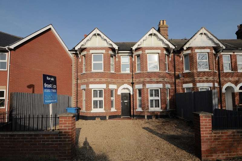 4 Bedrooms End Of Terrace House for sale in Pottery Road, Whitecliff, Poole