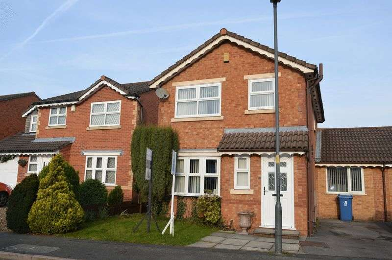4 Bedrooms Detached House for sale in Wearhead Close, Golborne, WA3 3YE