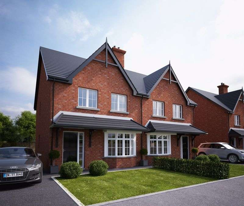3 Bedrooms Semi Detached House for sale in Site 72 Lacehill Park, Portadown