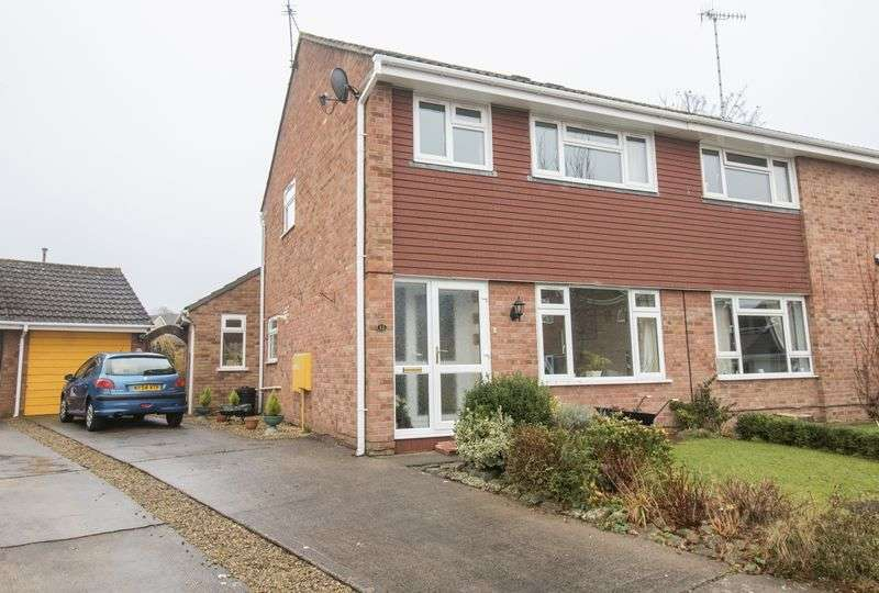 3 Bedrooms Semi Detached House for sale in Anson Close, Saltford