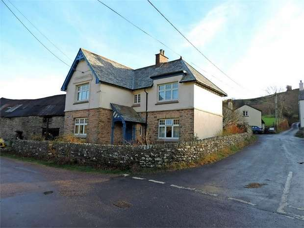 4 Bedrooms Detached House for sale in Brendon, Lynton, Devon