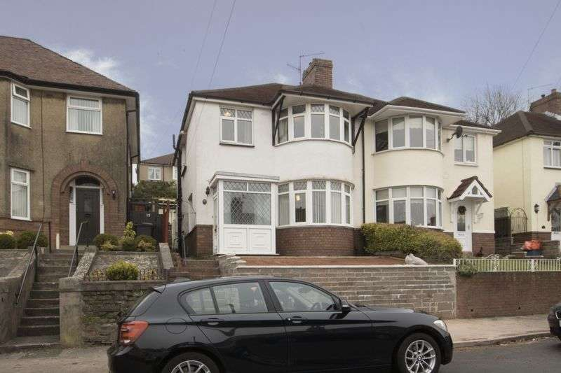 3 Bedrooms Semi Detached House for sale in Summerhill Avenue, Newport