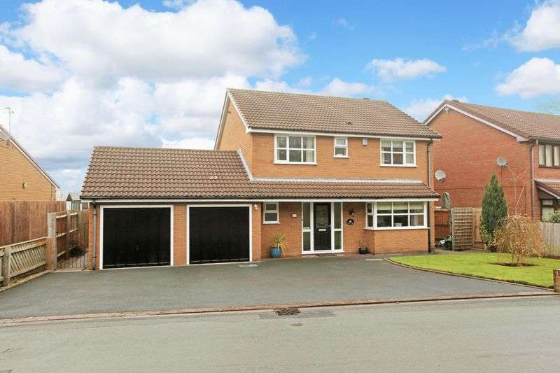 4 Bedrooms Detached House for sale in New Road, Wrockwardine Wood, Telford