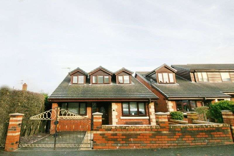 4 Bedrooms Detached House for sale in Lawefield Crescent, Manchester