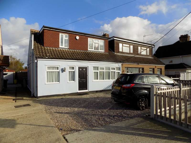4 Bedrooms Semi Detached House for sale in Church End Lane, Wickford, Essex, SS11