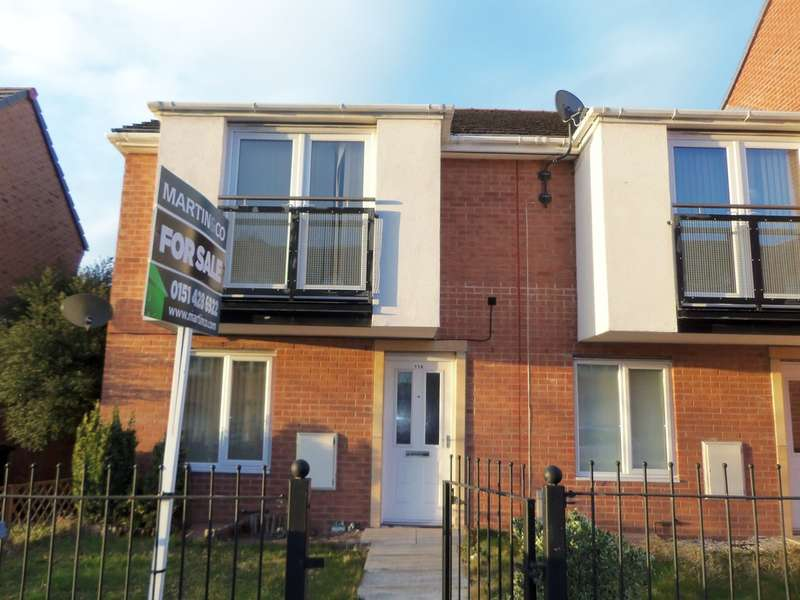 3 Bedrooms Semi Detached House for sale in Hansby Drive, Hunts Cross