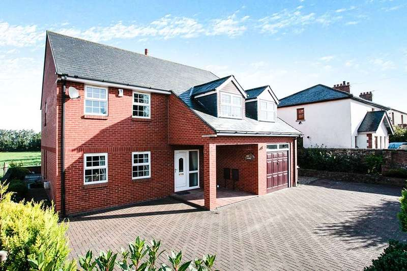 4 Bedrooms Detached House for sale in Monkhill, Burgh-By-Sands, Carlisle, CA5