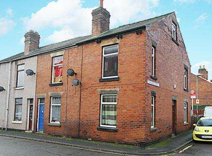 3 Bedrooms End Of Terrace House for sale in Sterland Street, Chesterfield, Derbyshire
