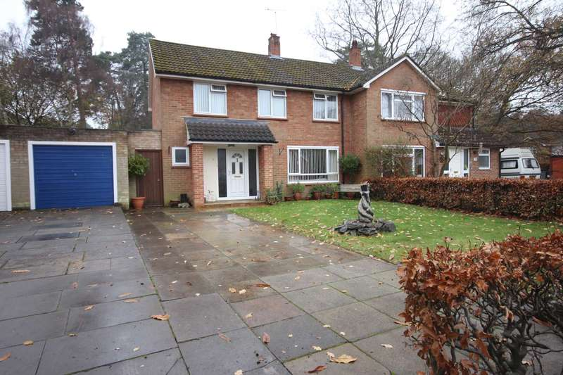 3 Bedrooms Semi Detached House for sale in Wilberforce Way, Bracknell