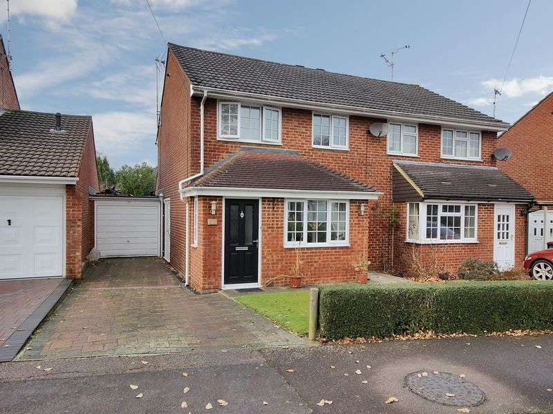 3 Bedrooms Semi Detached House for sale in Heathfield, Pound Hill, Crawley, West Sussex