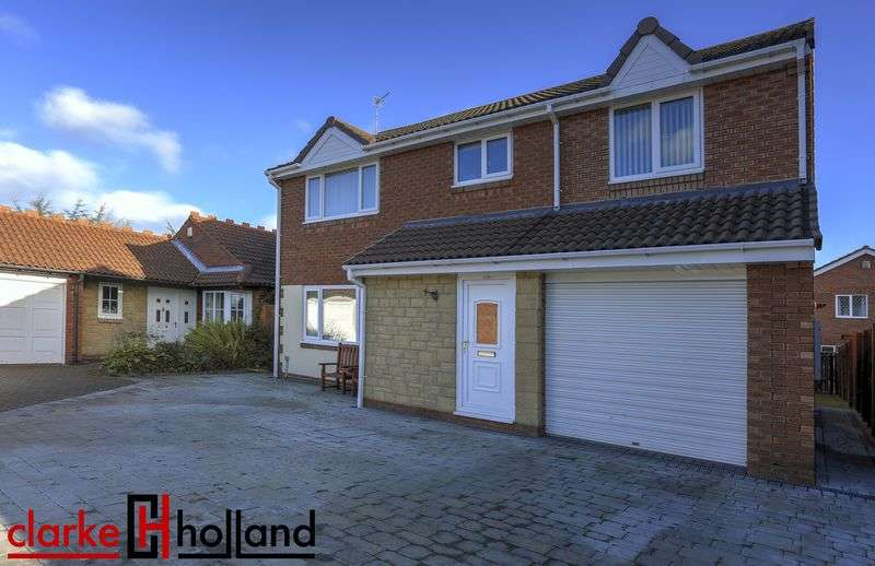 5 Bedrooms Detached House for sale in Linnet Court, Ashington