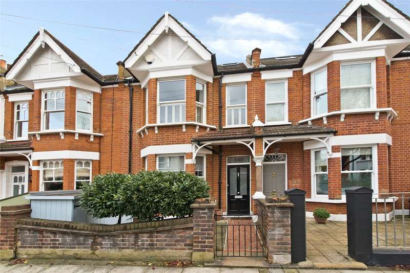 4 Bedrooms Terraced House for sale in Clonmore Street, London, SW18