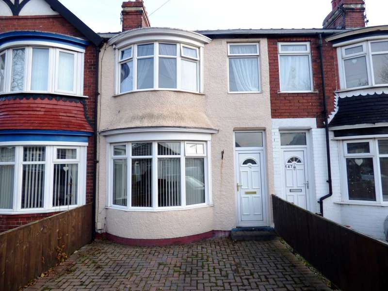 3 Bedrooms Terraced House for sale in ***NO CHAIN***REDUCED*** Laburnum Road, Redcar