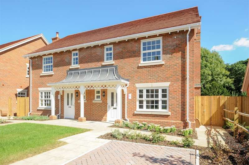 3 Bedrooms Semi Detached House for sale in Church Lane, Colden Common, Winchester, SO21