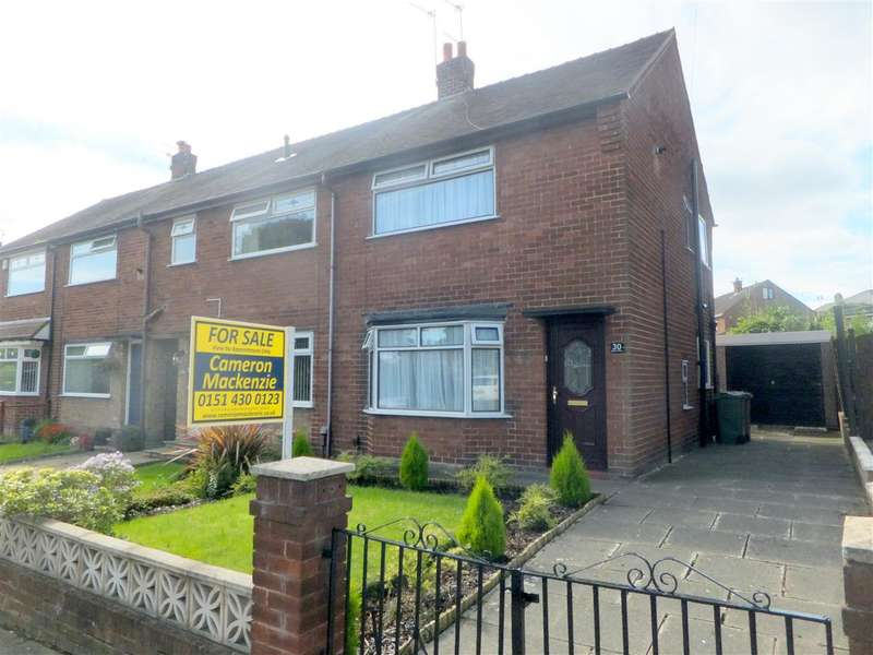 2 Bedrooms Terraced House for sale in Nutgrove Hall Drive, Nutgrove, St Helens