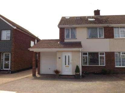 4 Bedrooms Semi Detached House for sale in Benfleet, Essex