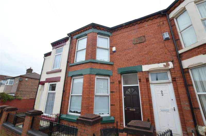 3 Bedrooms Terraced House for sale in Rydal Street, Liverpool, Merseyside, L5