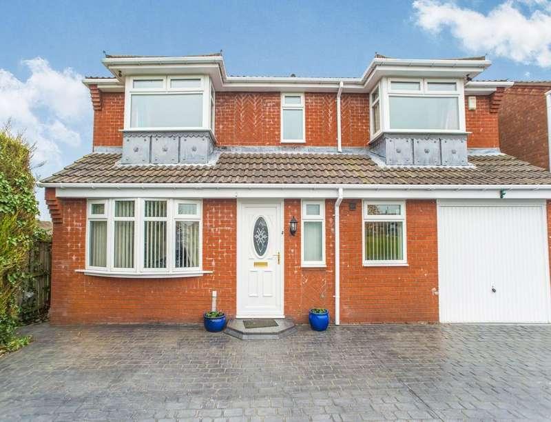 4 Bedrooms Detached House for sale in Southfields, Dudley, Cramlington, NE23