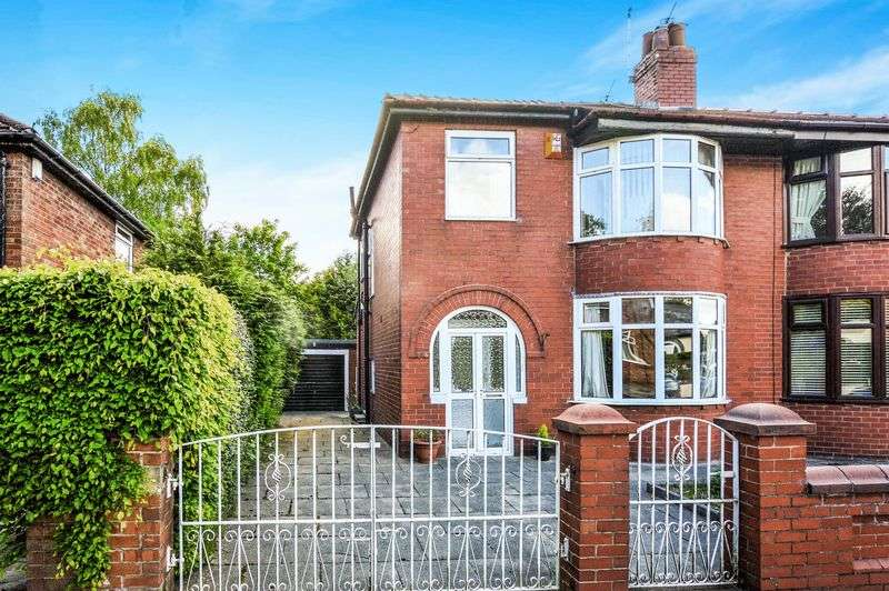 3 Bedrooms Semi Detached House for sale in Birkdale Drive, Bury