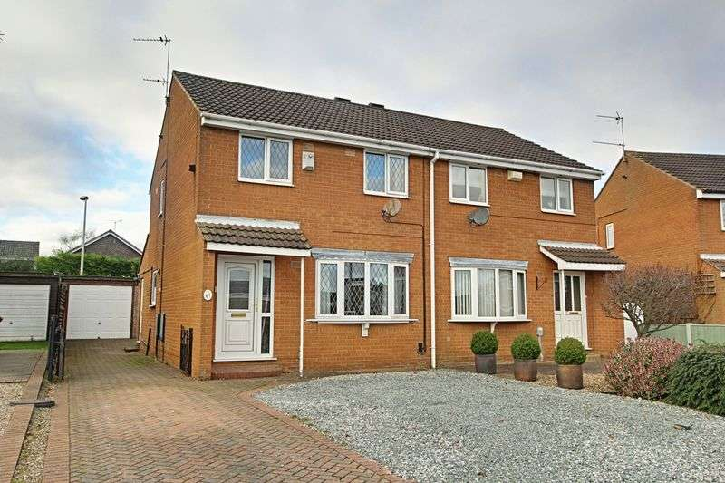 3 Bedrooms Semi Detached House for sale in Inmans Road, Hedon