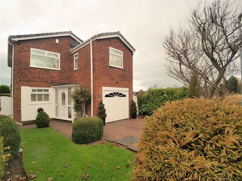 4 Bedrooms Detached House for sale in Liverpool Road South, Burscough, Ormskirk