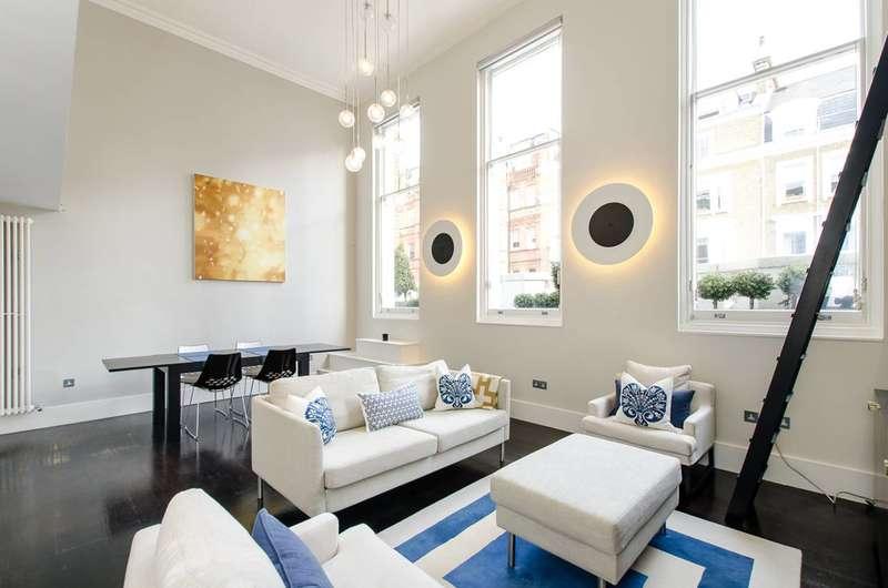 2 Bedrooms Maisonette Flat for sale in Bina Gardens, South Kensington, SW5