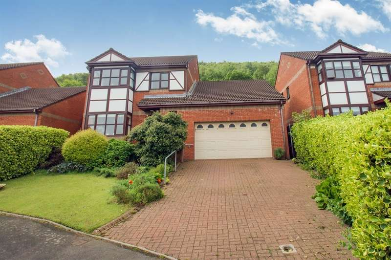 4 Bedrooms Detached House for sale in Greenacres, Penclawdd, Swansea
