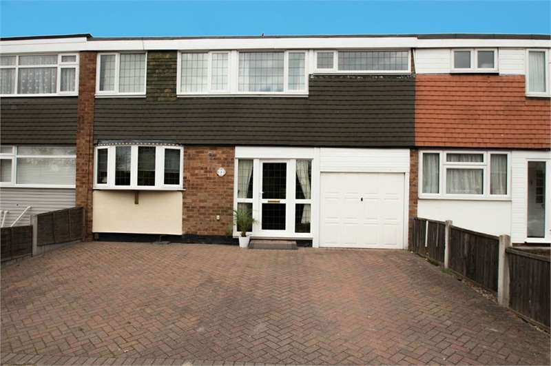 4 Bedrooms Terraced House for sale in Brewster Close, Canvey Island, SS8