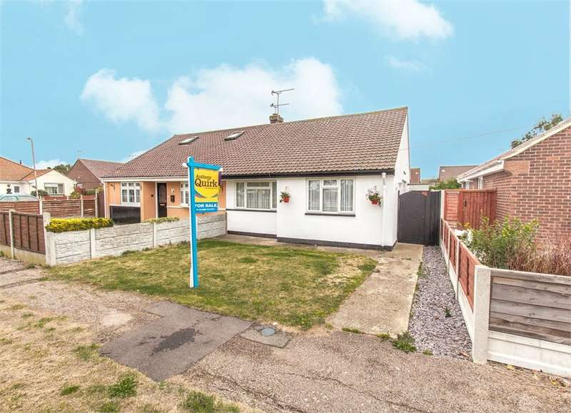 2 Bedrooms Semi Detached Bungalow for sale in Cedar Road, Canvey Island, SS8