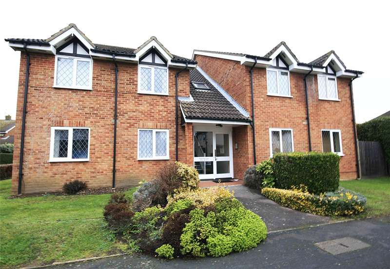 1 Bedroom Apartment Flat for sale in Wakefield Close, Byfleet, West Byfleet, Surrey, KT14