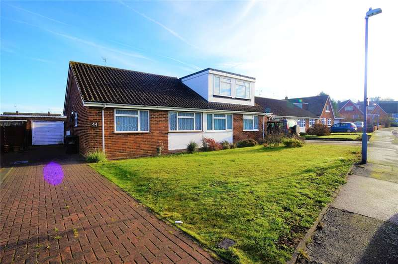 2 Bedrooms Semi Detached Bungalow for sale in Ash Crescent, Higham, Rochester, Kent, ME3