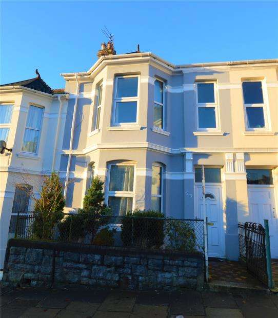 3 Bedrooms Terraced House for sale in Lipson Avenue, Plymouth, Devon