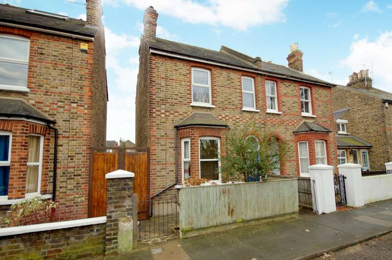 2 Bedrooms Semi Detached House for sale in New Malden