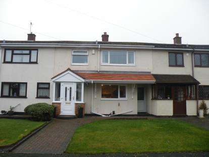 3 Bedrooms Terraced House for sale in Acorn Close, Burntwood