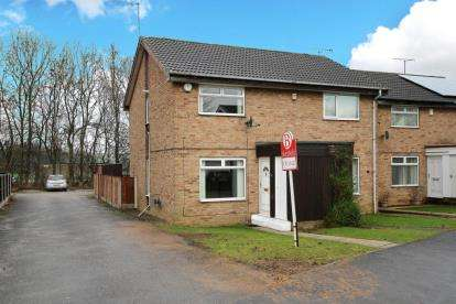 2 Bedrooms Semi Detached House for sale in Bramley Grange Way, Bramley, Rotherham, South Yorkshire