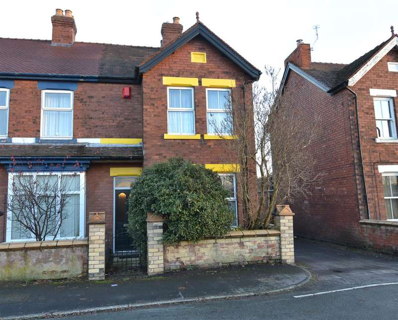 3 Bedrooms Semi Detached House for sale in Cambridge Street, Stafford