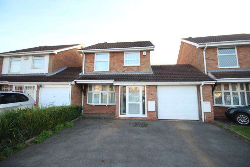 3 Bedrooms Link Detached House for sale in Hall Dale Close, Hall Green, Birmingham