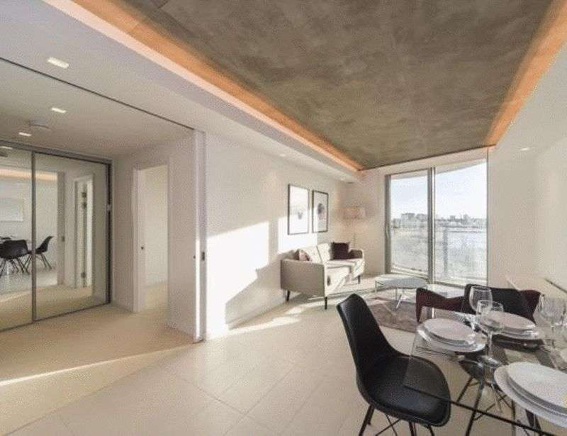 1 Bedroom Flat for sale in Hoola Tower East, London