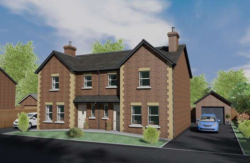 3 Bedrooms Semi Detached House for sale in Site 28 Bachelors Close, Portadown