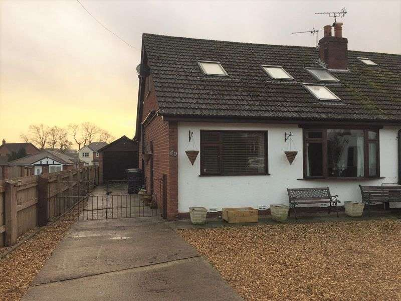 3 Bedrooms Semi Detached House for sale in Hall Carr Lane, Longton, Preston