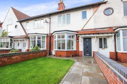 3 Bedrooms Terraced House for sale in Mythop Avenue, Lytham St. Annes, Lancashire, England, FY8