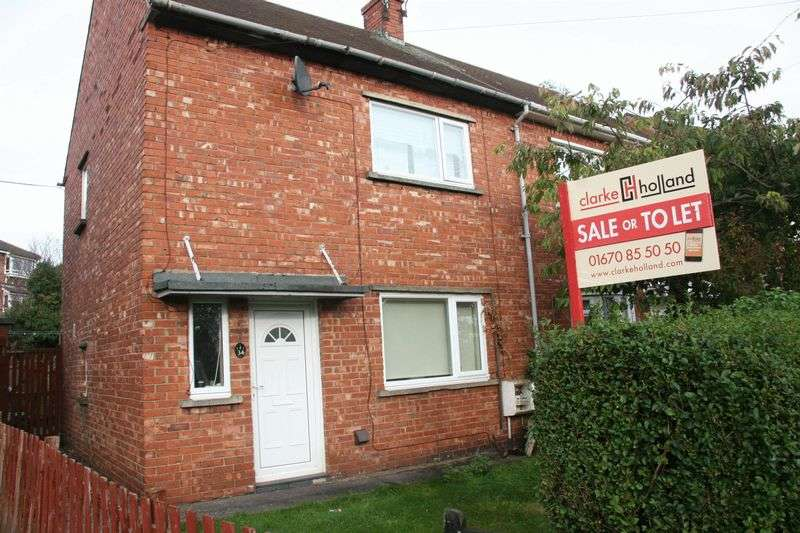 2 Bedrooms Semi Detached House for sale in Waverley Avenue, Bedlington