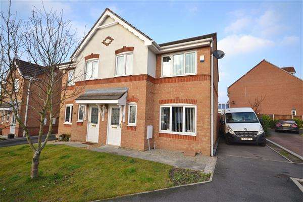 3 Bedrooms Semi Detached House for sale in Woodlark Drive, Gillibrand South, Chorley, Chorley