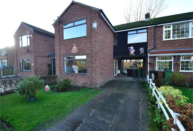 3 Bedrooms Semi Detached House for sale in Lugano Road, Bramhall, Stockport SK7 3HU