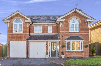 5 Bedrooms Detached House for sale in Yew Close, Leicester Forest East, Leicester, Leicestershire