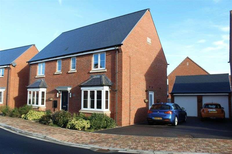 4 Bedrooms Detached House for sale in Blackburn Way, West Wick