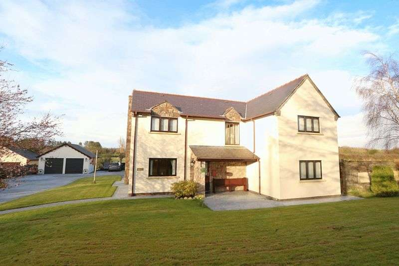 4 Bedrooms Detached House for sale in Lloc, Holywell
