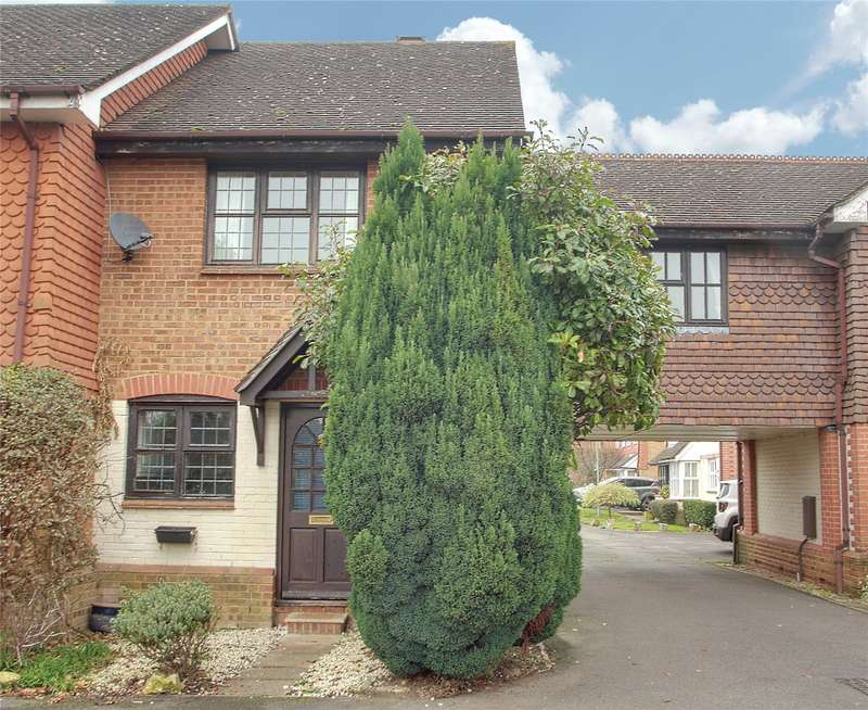 3 Bedrooms End Of Terrace House for sale in Warwick Deeping, Ottershaw, Surrey, KT16