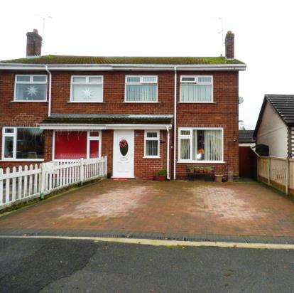 3 Bedrooms Semi Detached House for sale in Oakfield Road, Blacon, Cheshire, CH1