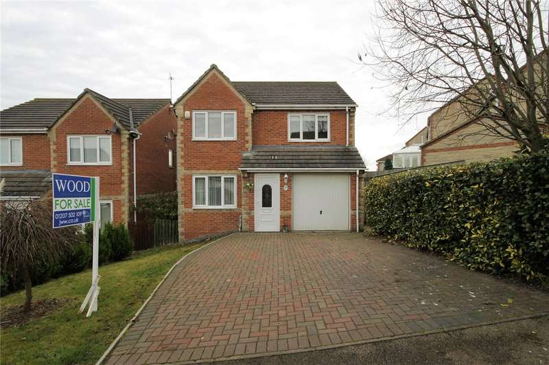 4 Bedrooms Detached House for sale in Stuart Court, Consett, County Durham, DH8